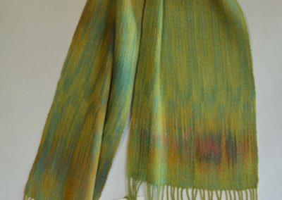 Line Silk Woven Scarf (1)
