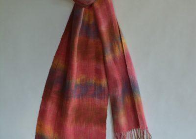 Line Silk Woven Scarf (10)