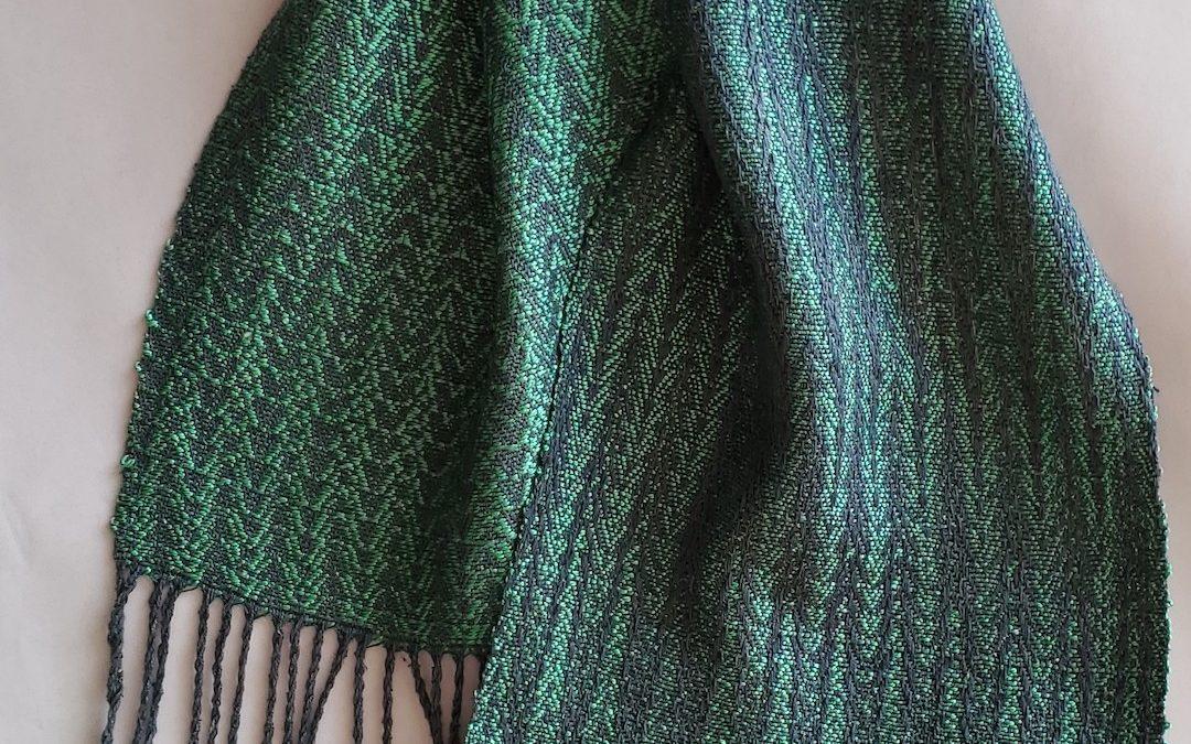 Noil Silk Woven Scarf (6)