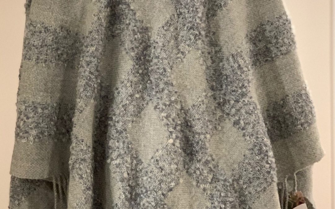 Grey Triangular Shawl