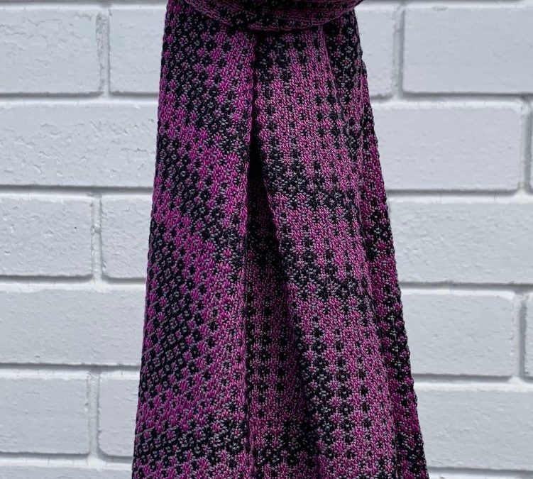 Colourful Handwoven Cotton Scarf (1)