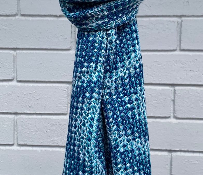 Colourful Handwoven Cotton Scarf (3)