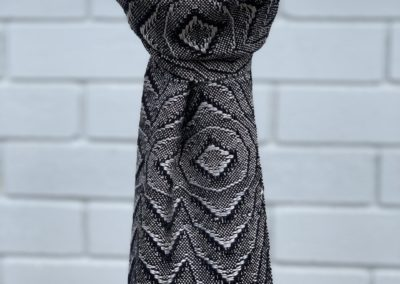 Overshot Lace Scarf (2)