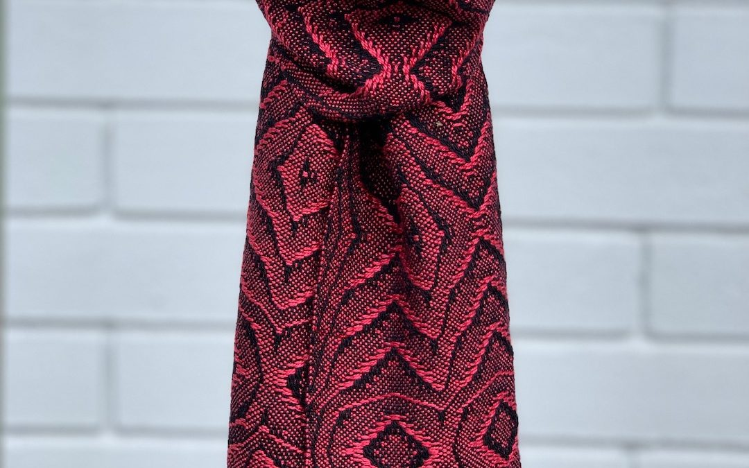Overshot Lace Scarf