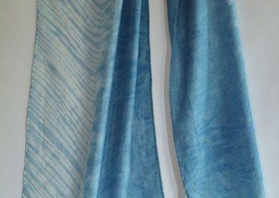 Dyed Shibori Scarves (7)