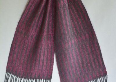 Noil Silk Woven Scarf (3)