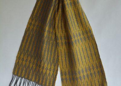 Noil Silk Woven Scarf (1)