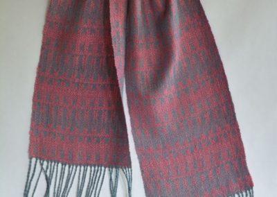 Noil Silk Woven Scarf (2)