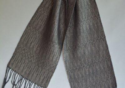 Noil Silk Woven Scarf (4)