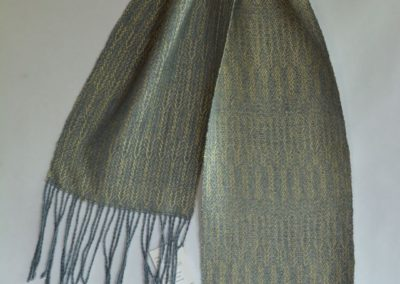Noil Silk Woven Scarf (5)