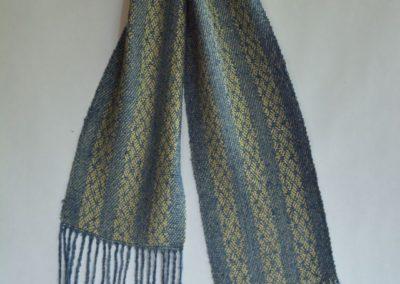 Noil Silk Woven Scarf (9)
